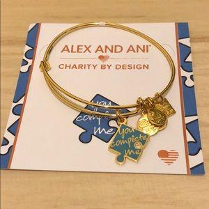 Alex and Ani you complete me bangle